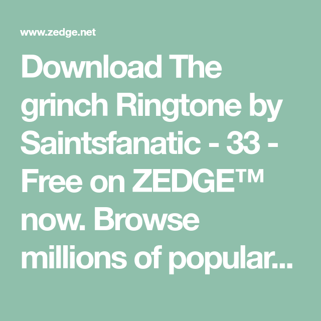 grinch ringtone android free