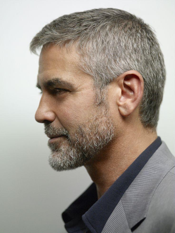 Style Icons George Clooney Fryzury Fryzura Fryzury I