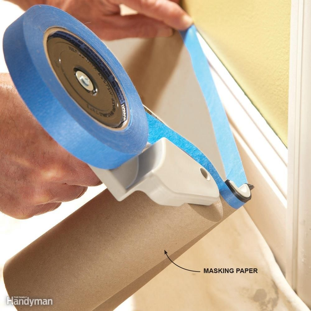 The Foolproof Way To Get Crisp Lines With Painter S Tape Painting Walls Tips Painters Tape Painters Tape Design