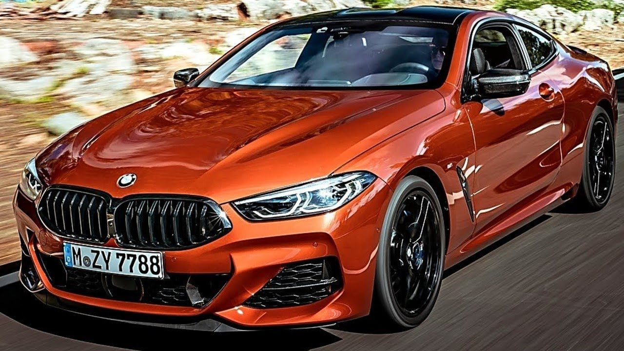 2019 Bmw 8 Series Coupe 20 Inches Black Alloy Wheels Cars