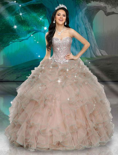 806976ea39eb28 Disney Royal Ball Quinceanera Princess Gowns Prinses Toga