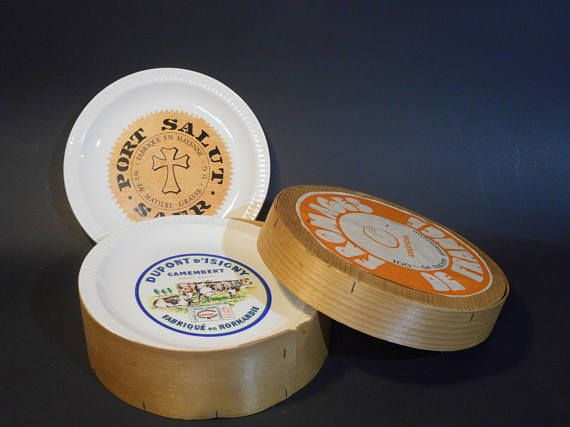 Vintage French Cheese Plate Set from //.etsy.com/ & Vintage French Cheese Plate Set from https://www.etsy.com/listing ...
