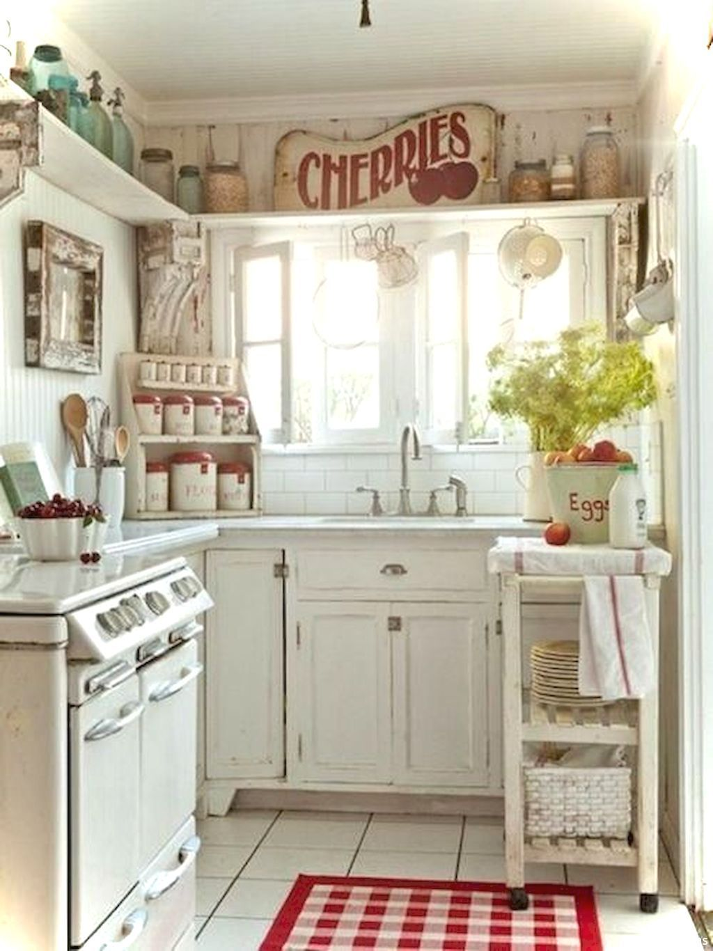 Nice 55 Genius Small Cottage Kitchen Design