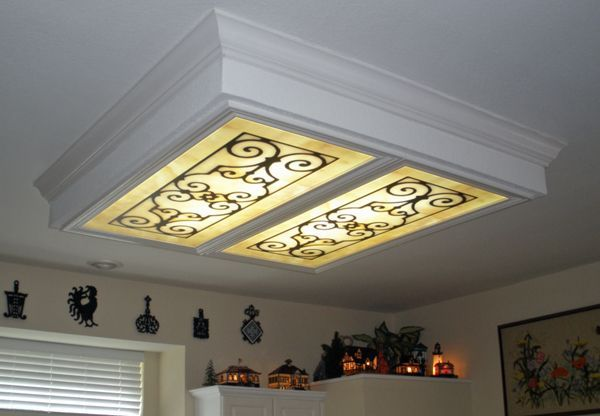 Wishing i could find a diy option for this idea wonder - Diy ceiling light cover ...