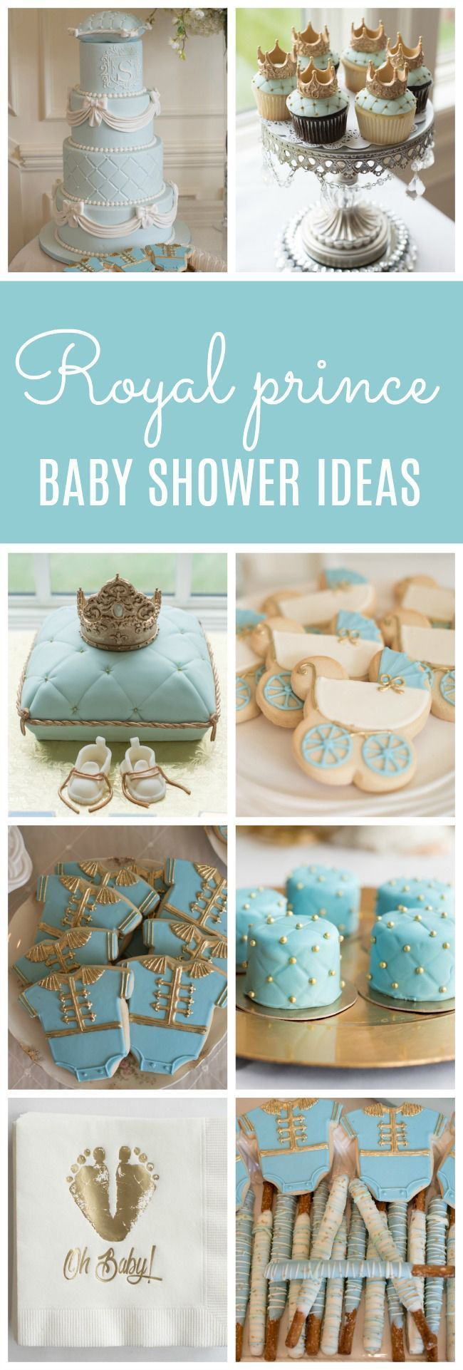 Little Prince Themed Baby Shower Sprinkle On Pretty My Party With
