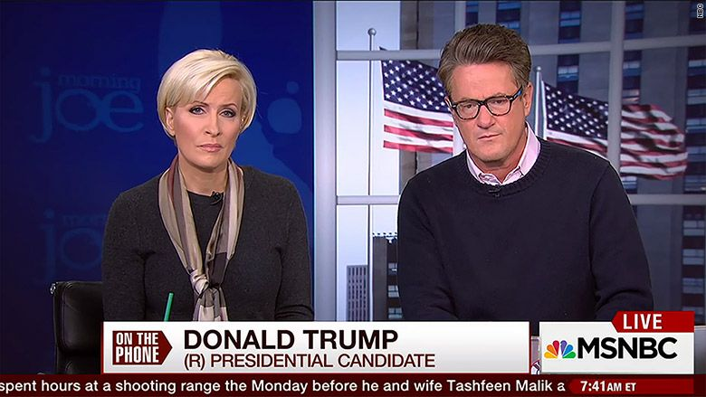 Scarborough, Brzezinski revise history, claim they didn't