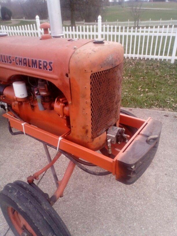 Allis Chalmers C front mounted hydraulic pump | Allis Chalmers C