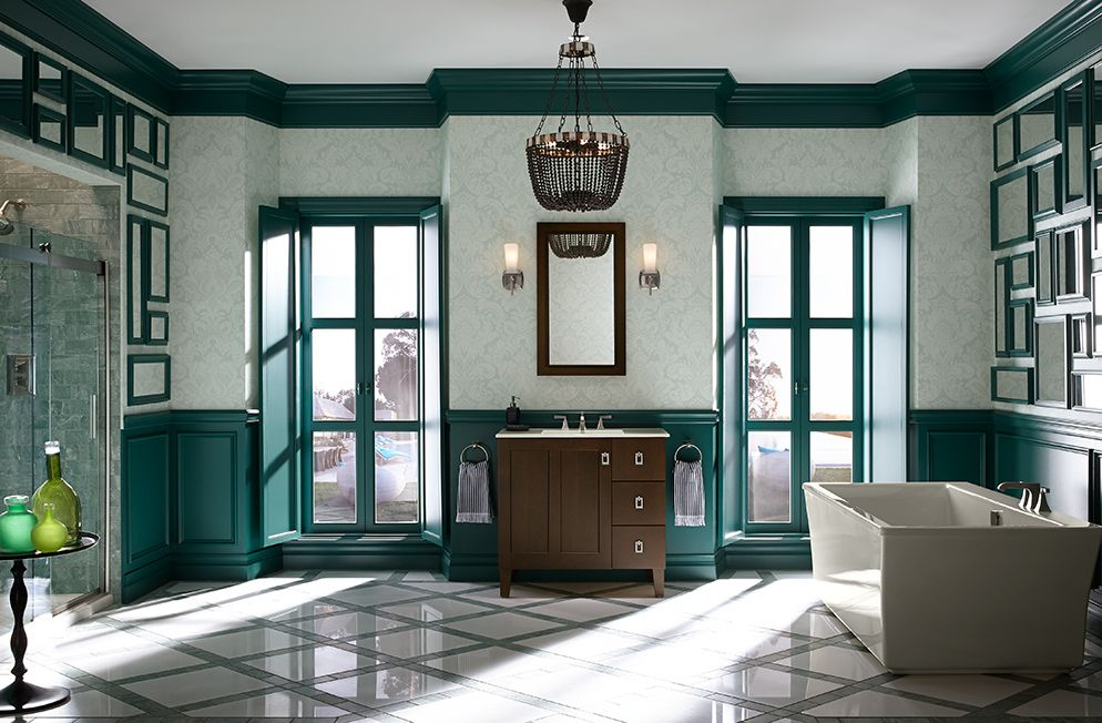 Website With Photo Gallery KOHLER Bathroom Vanities Collections Poplin Find this and much more at Supply