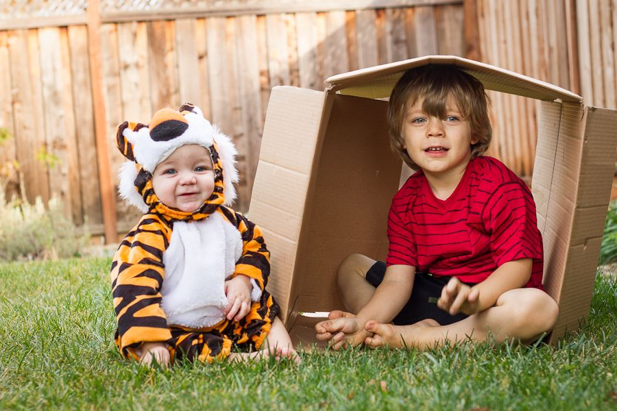 Calvin and Hobbes! These will be my future kids one day!