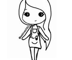 Chibi Template  Chibis    Chibi Drawings And Drawing