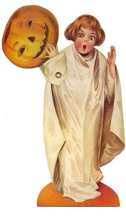 Vintage Halloween decoration A Merry Halloween Pinterest - halloween decorations vintage