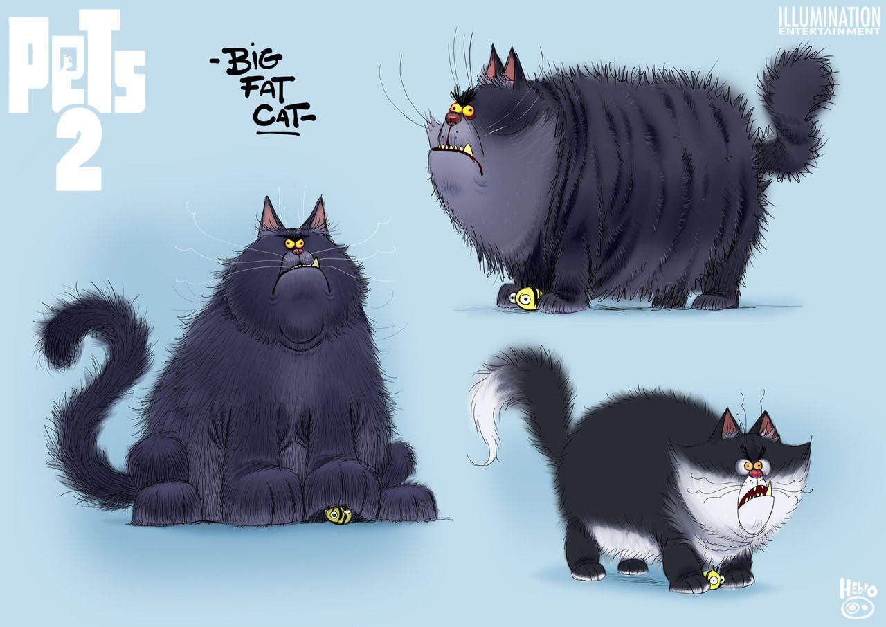 Character Designs Do Filme Pets 2 Por Daniel Fernandez Casas