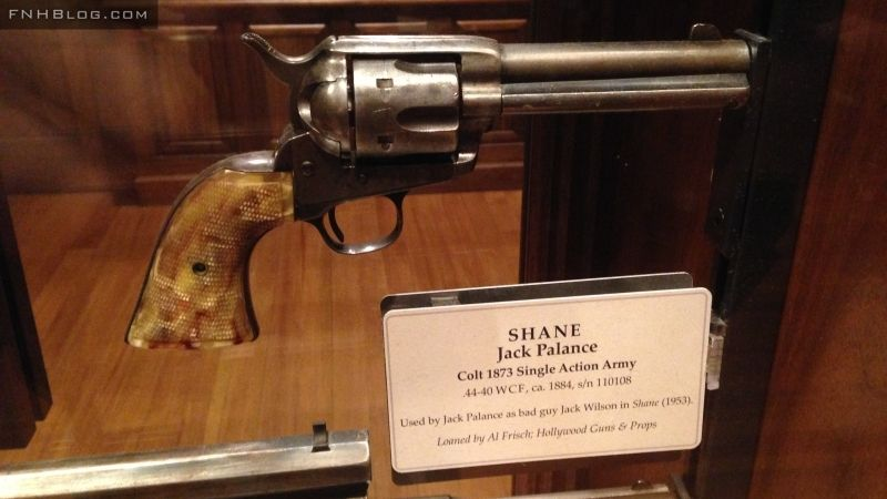 Colt Quickdraw Model SAA Revolver used by Jack Palance in the movie