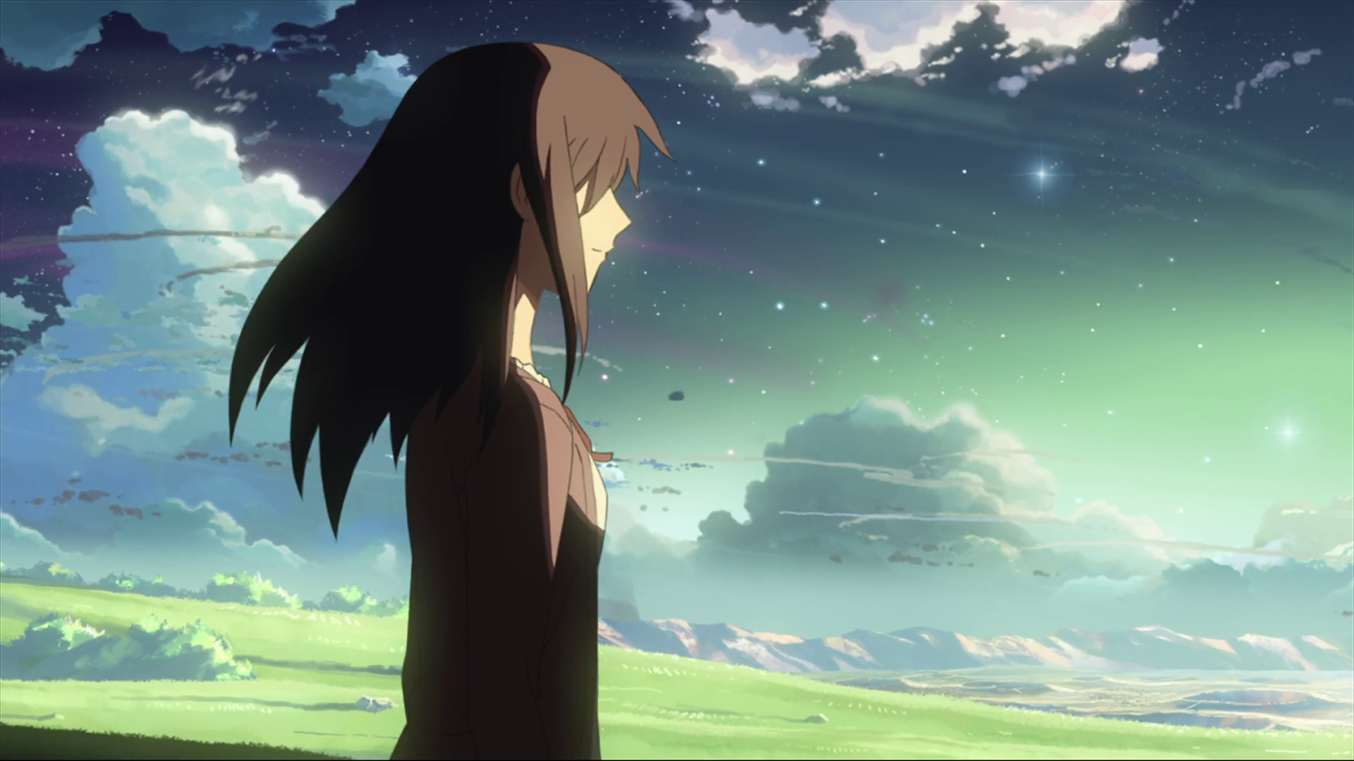 anime 5 centimeters per second majestic makoto shinkai