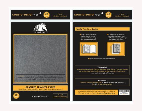 graphite carbon paper 25 sheets 9 x 13 black tracing paper