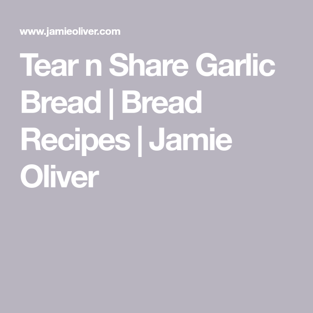 Tear 'n' share garlic bread | Recipe | Garlic bread, Bread ...