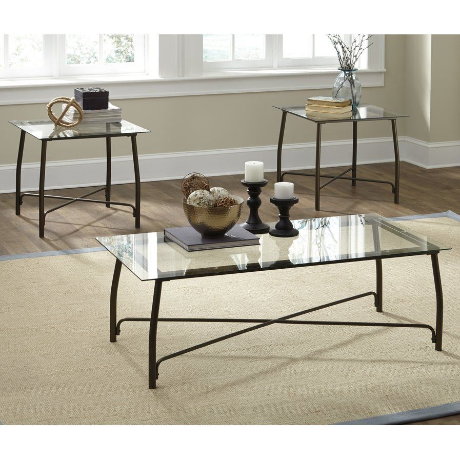 Mabrey 3 Piece Coffee Table Set Coffee Table Coffee Table Setting 3 Piece Coffee Table Set [ 897 x 897 Pixel ]