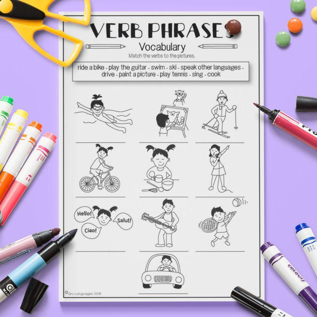 Verb Vocabulary