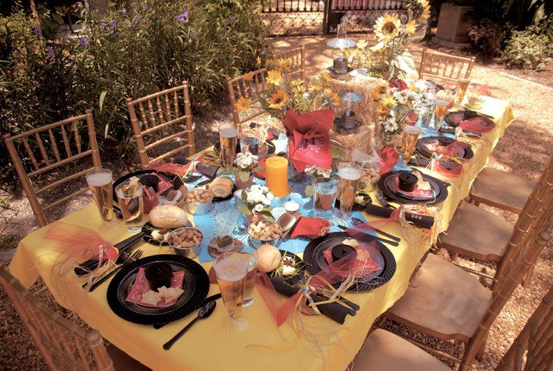 western weddings  Western Wedding Table Decorations