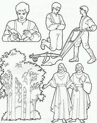 6/13/12- my 1st Activity Days: Joseph Smith\'s first vision packet ...