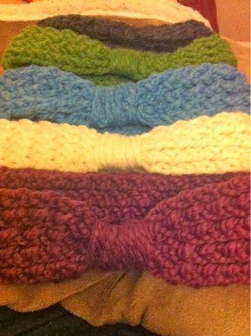 Jenns Yarn Addiction Loom Knit Headband Free Pattern Looms