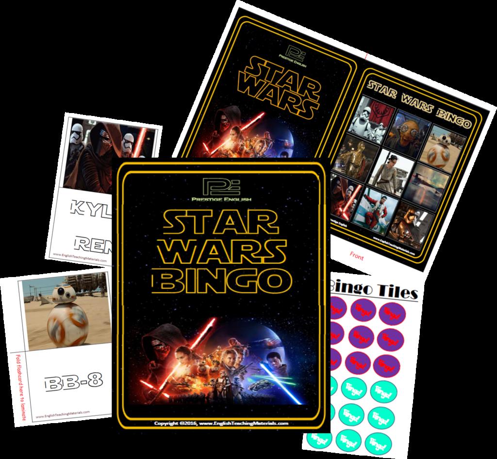 Uncategorized Star Wars Learning Games bingo star wars 2015 fun game gaming learning game