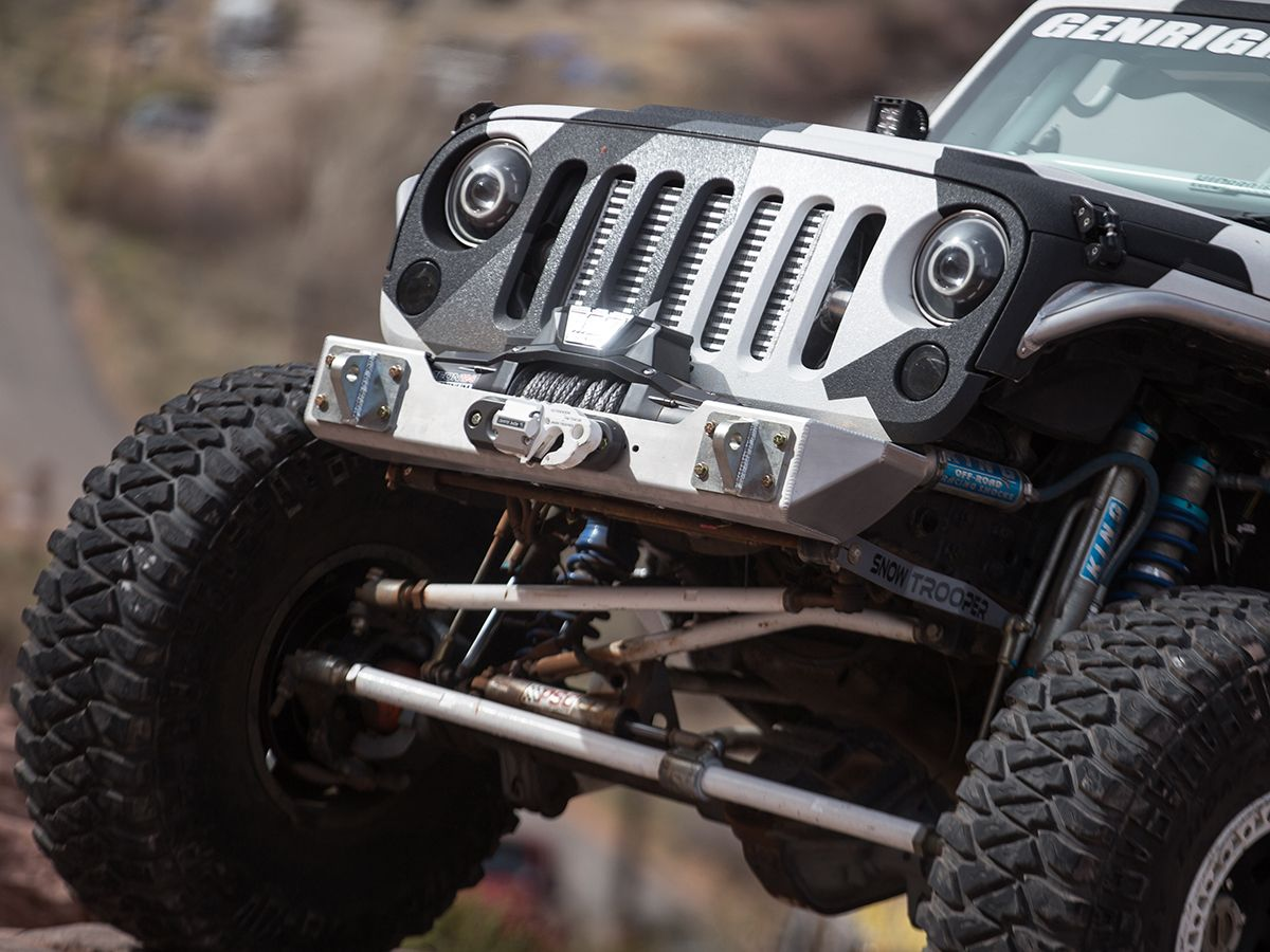 Ultra Clearance Jk Stubby Front Bumper Aluminum Jeep Front