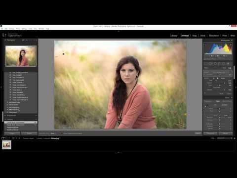 morgan burks adjustment brush demonstration… painting light, portrait retouching, etc.