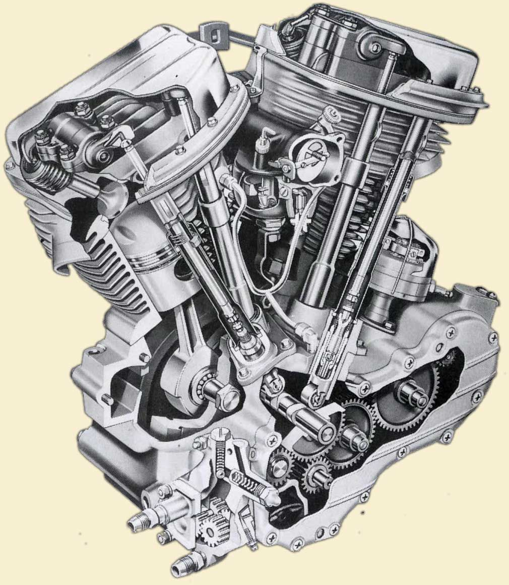Harley Evolution Engine Single Cam Diagram | Wiring Liry on