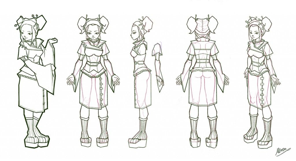 Anime Character Design Reference : Reference sheet for anime character in d pesquisa