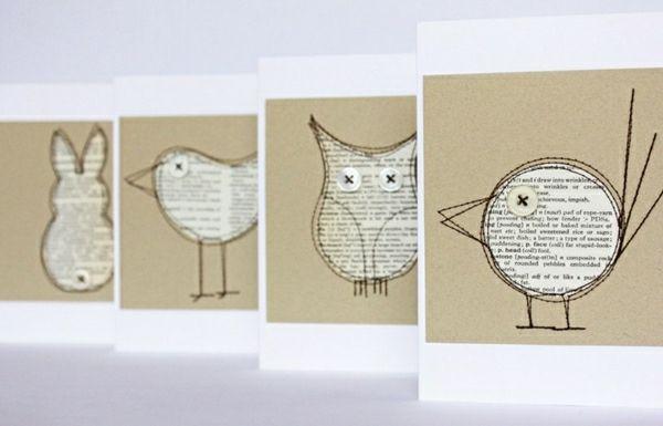 GroB Coole Ideen Basteln Mit Papier Karten Selber Machen Diy Karten Basteln  Schöne Originelle Ideen