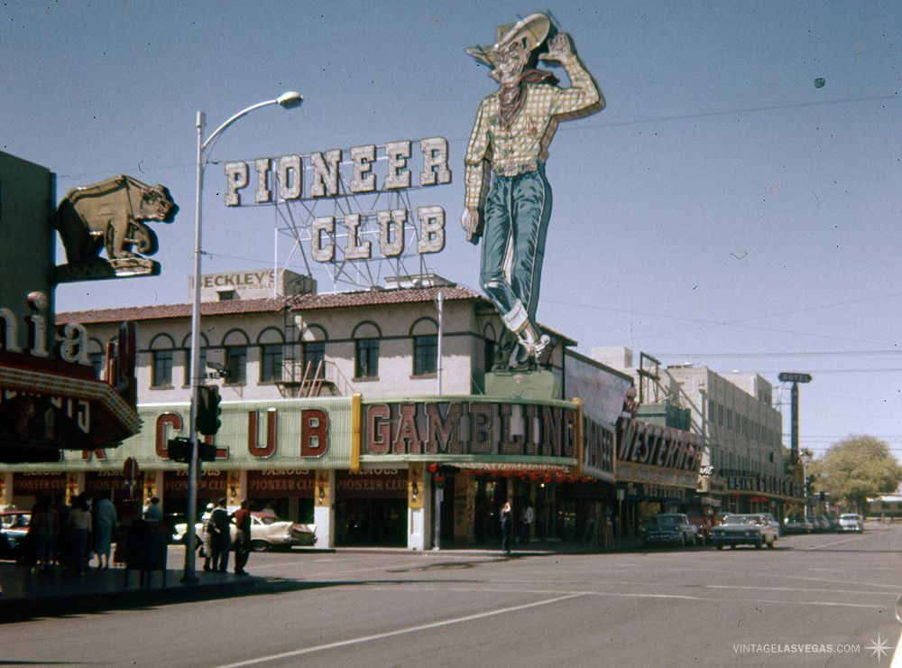 Vintage Las Vegas — Fremont St, Las Vegas, September 1959. The Golden...