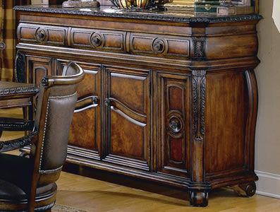Marble Top Buffet
