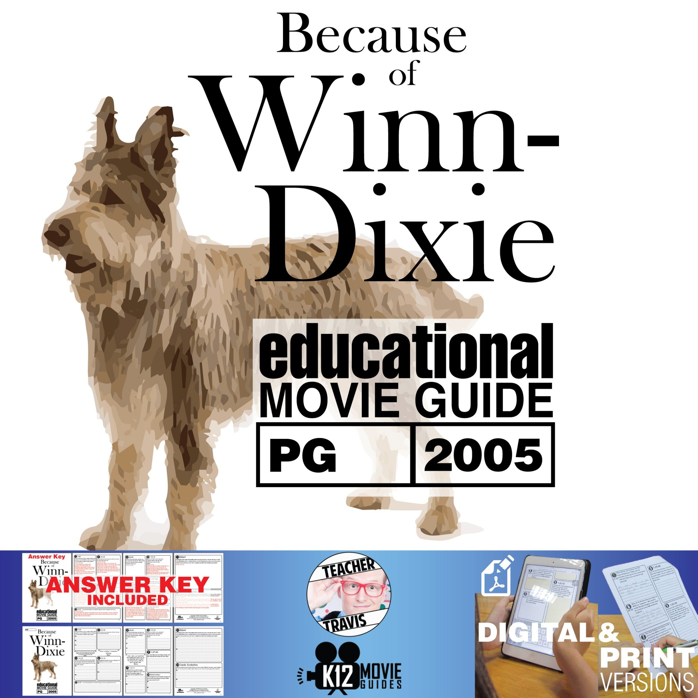 Because Of Winn Dixie Movie Guide