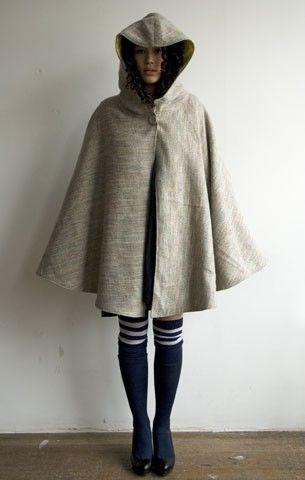 DIY Couture - How to Make a Cloak | Diy ideen, Nähen und Ideen