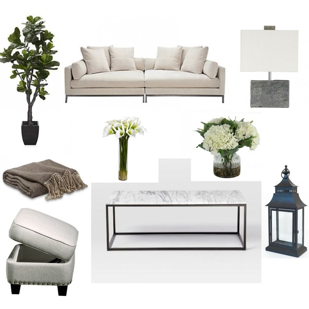 Online interior design services and curated shopping