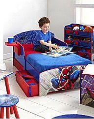 Spiderman Toddler Bed For Our Charlie Kids Bedroom Furniture