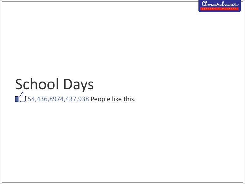 I still remember my #SchoolLife. Do you? #EducationalChair #CollegeFurniture