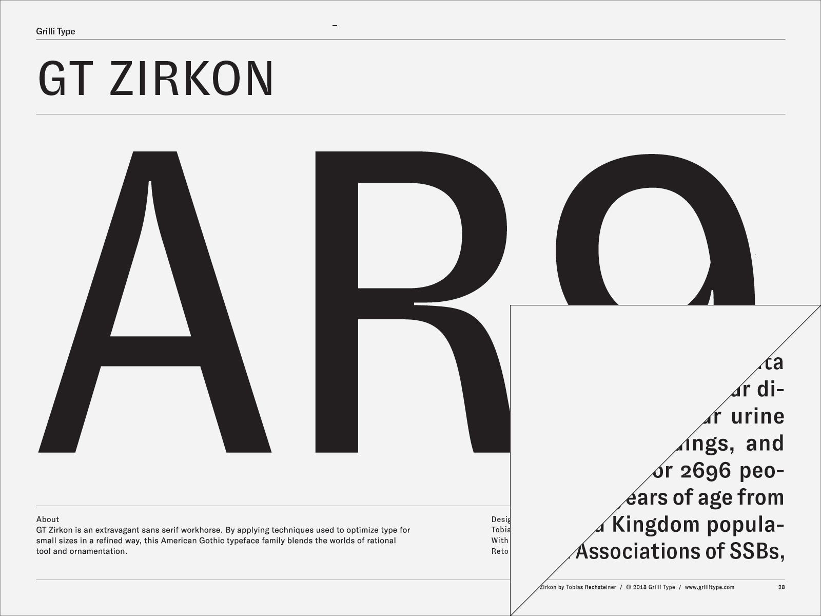GT Zirkon – Grilli Type – Independent Swiss Type Foundry