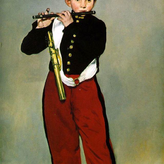 Le Fifre ,1866 Manet