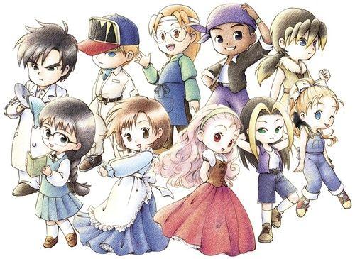 Pin Oleh Wachirawit Soontornworachan Di Harvest Moon Animasi Seni Anime Seni