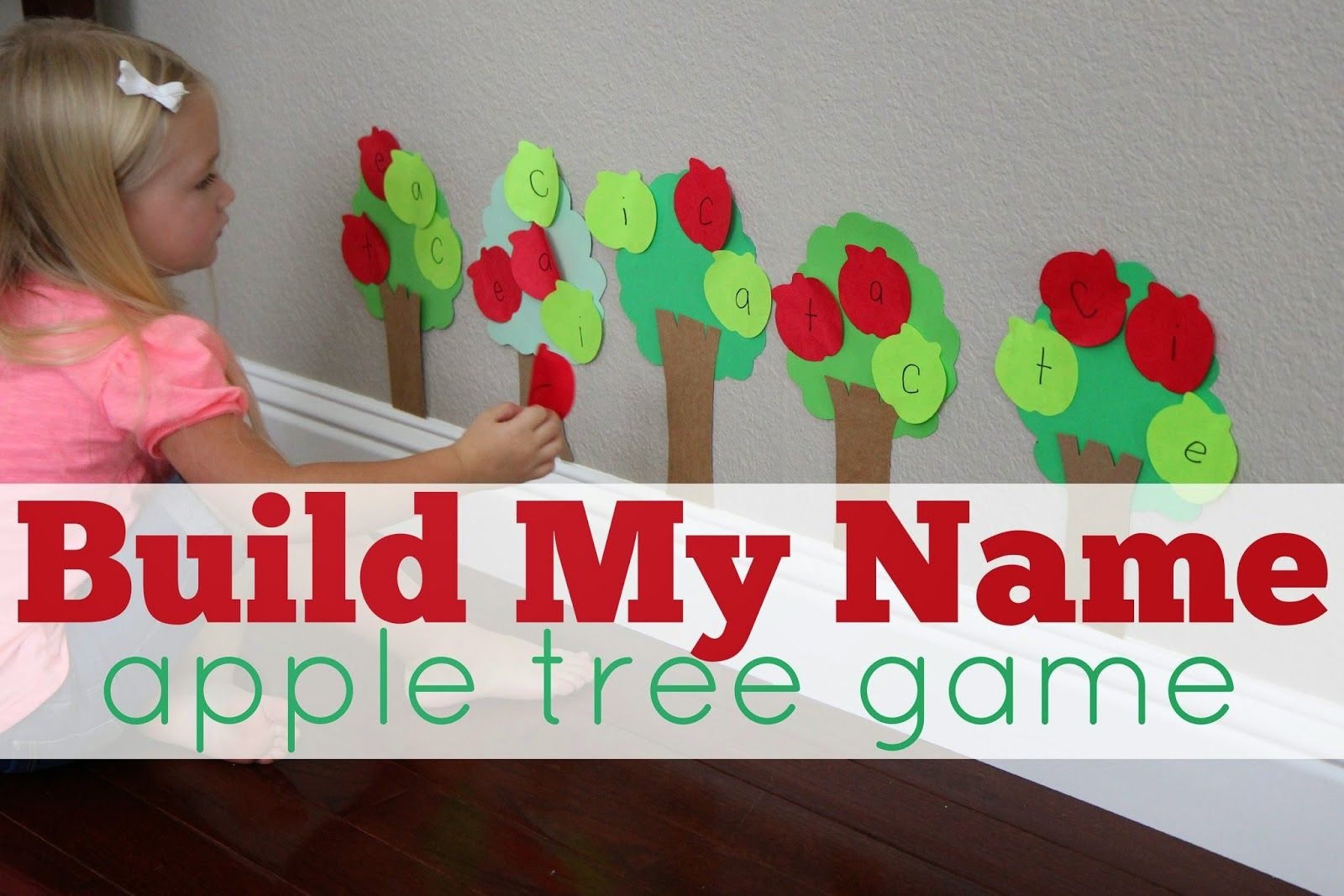 Build My Name Apple Tree Game Toddler Approved