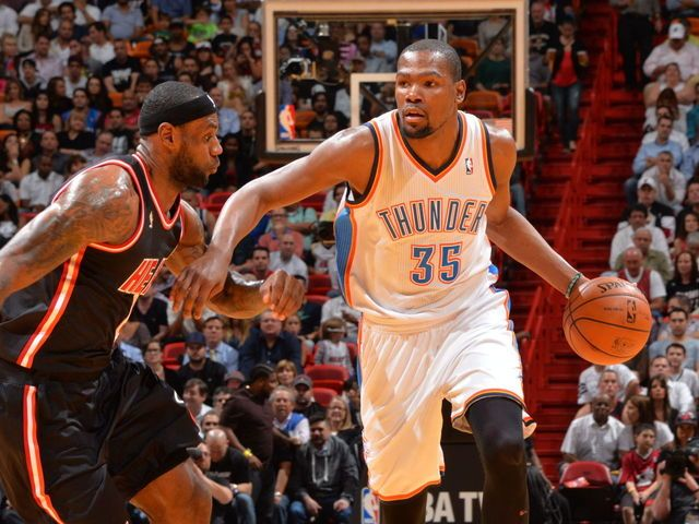 a845a0933fc LeBron James  Kevin Durant deserves to win NBA MVP award