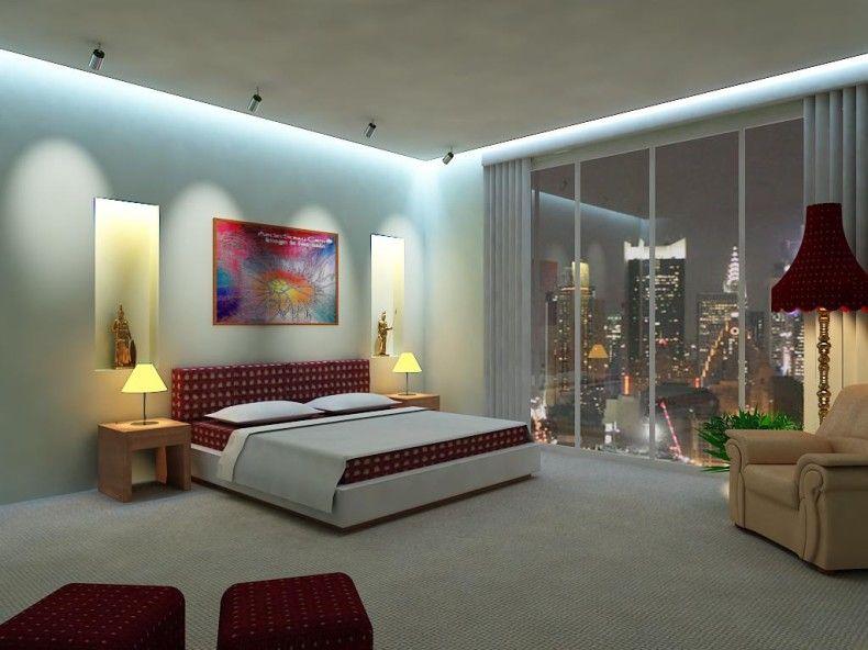 Modern Bedroom Lighting Ideas Photo 3 Madlonsbigbear