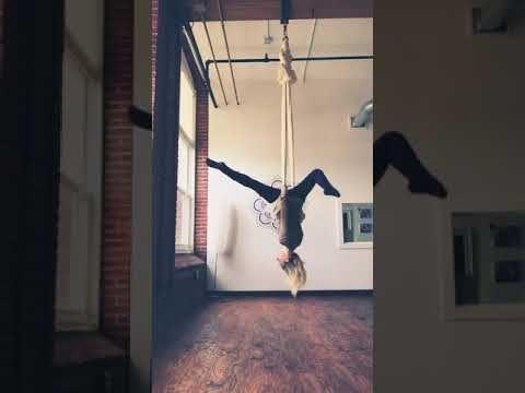 the way i do  aerial yoga girl  youtube  aerial yoga