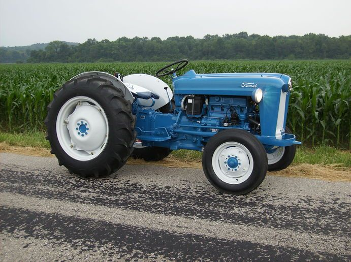 Blue Tractor Paint Code Tractors Tractor Photos Ford Tractors
