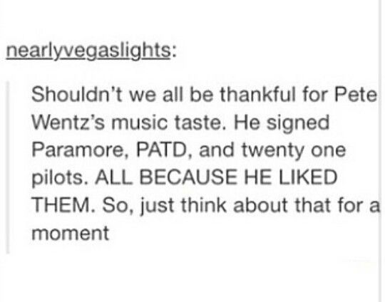Bless you Pete Wentz ❤️✨<< by signing these people he has saved many lives we love u pete