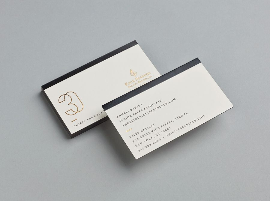 New logo for 30 park place by mother design bpo business cards gold foiled business cards for four seasons private residence 30 park place by mother colourmoves