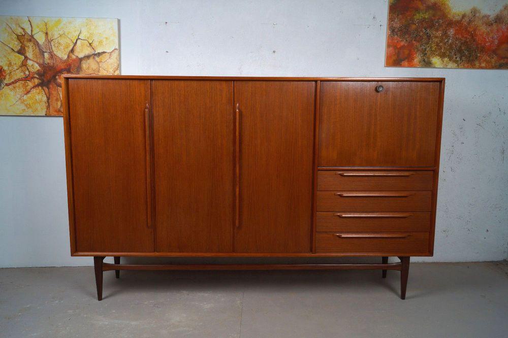 Sideboard 60er Jahre teak sideboard 60er die schönsten einrichtungsideen