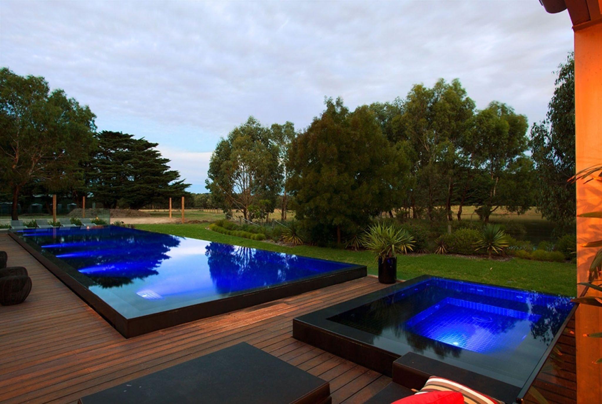 Aloha Pools Residential Pool Beautiful Pools Luxury Swimming Pools